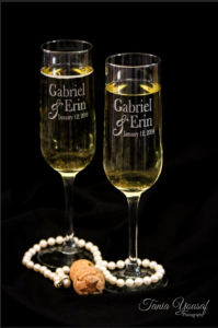 Champagne Flutes (Example)