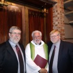 Harry and Tommy with Pastor Mike Elias
