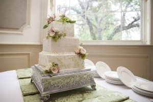 Cavalier and King Reception - Cake from Candy Haven